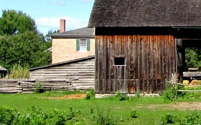 Upper Canada Village is the local tourist attraction that makes history come alive