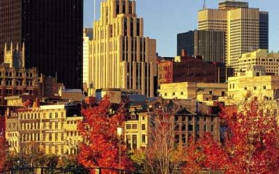 In Ville de Montréal, you'll discover French Canada's traditional charm and metropolitan heartbeat